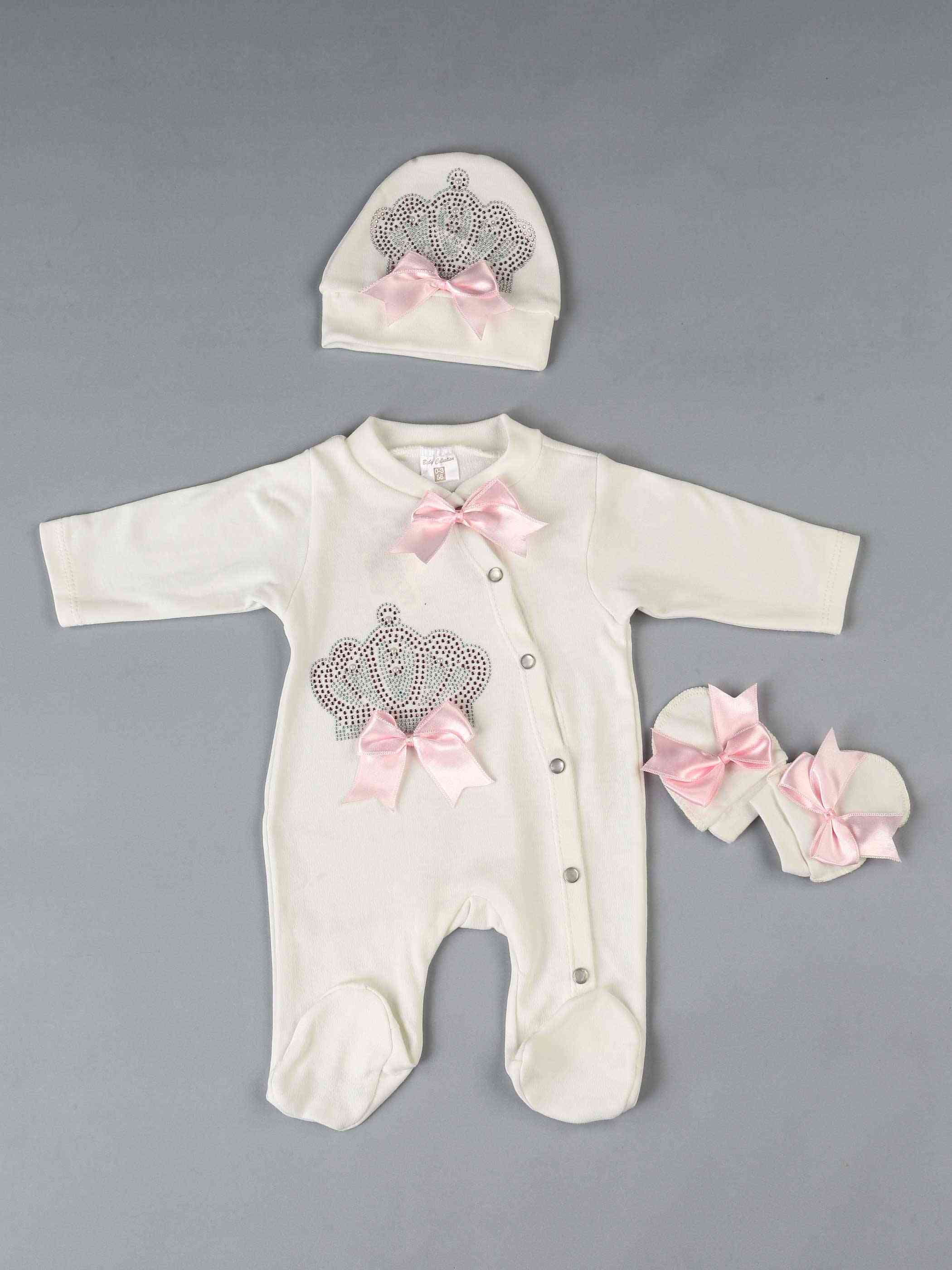 Baby Rompers / Newborn Clothes Set - Cotton Soft Fabric Clothing Models