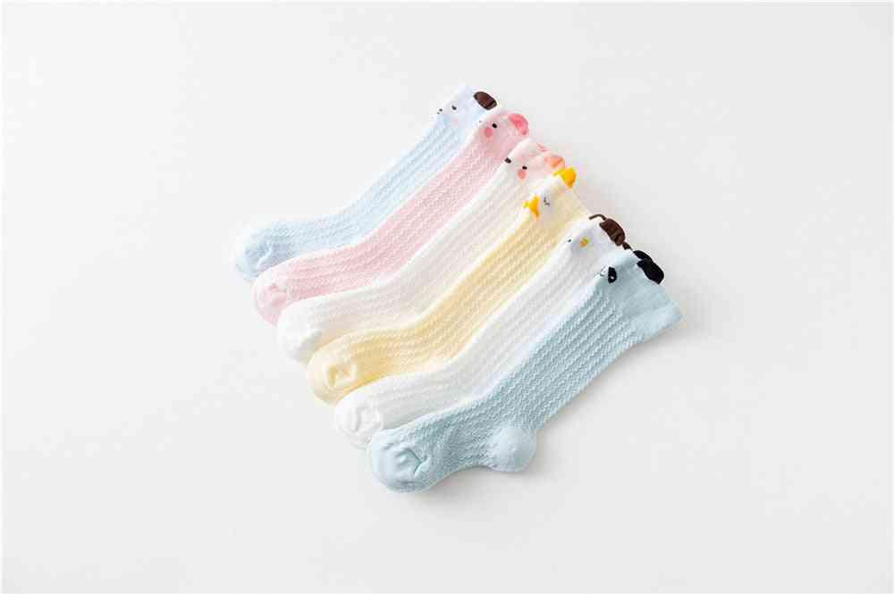 Leg Warmers, Newborn Baby High Knee Printed Socks