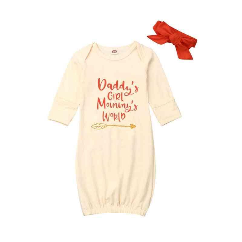 Baby Boy, Girl Sleepwear Wrap, Cotton Towel