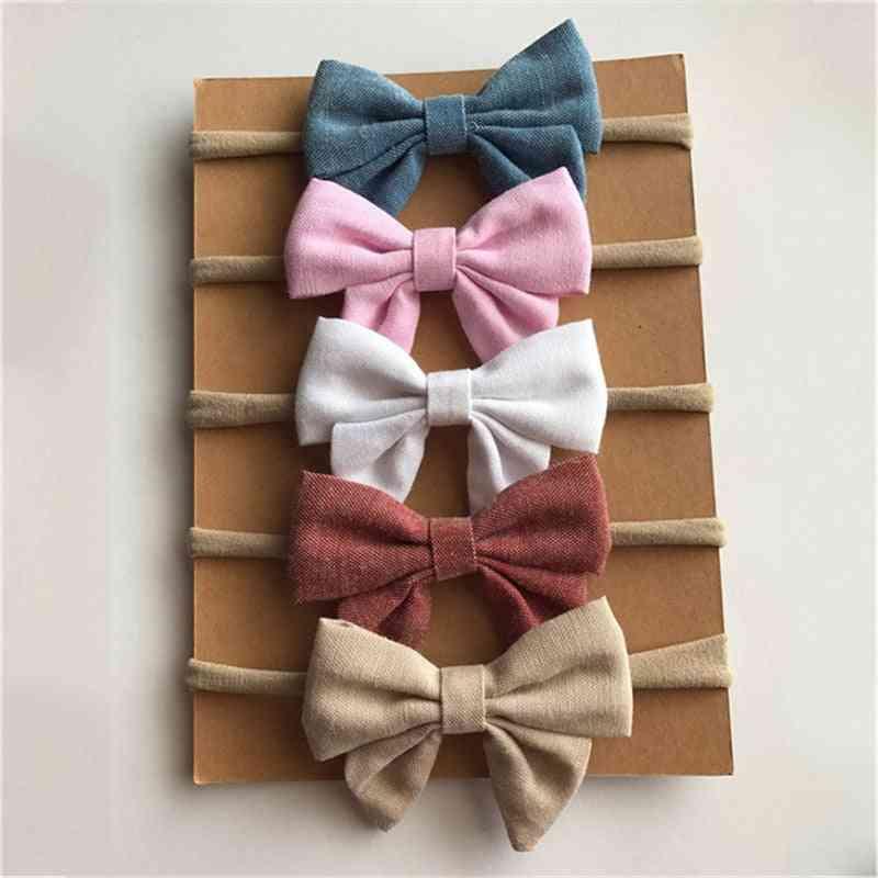 Handmade Nylon Headbands For Newborn