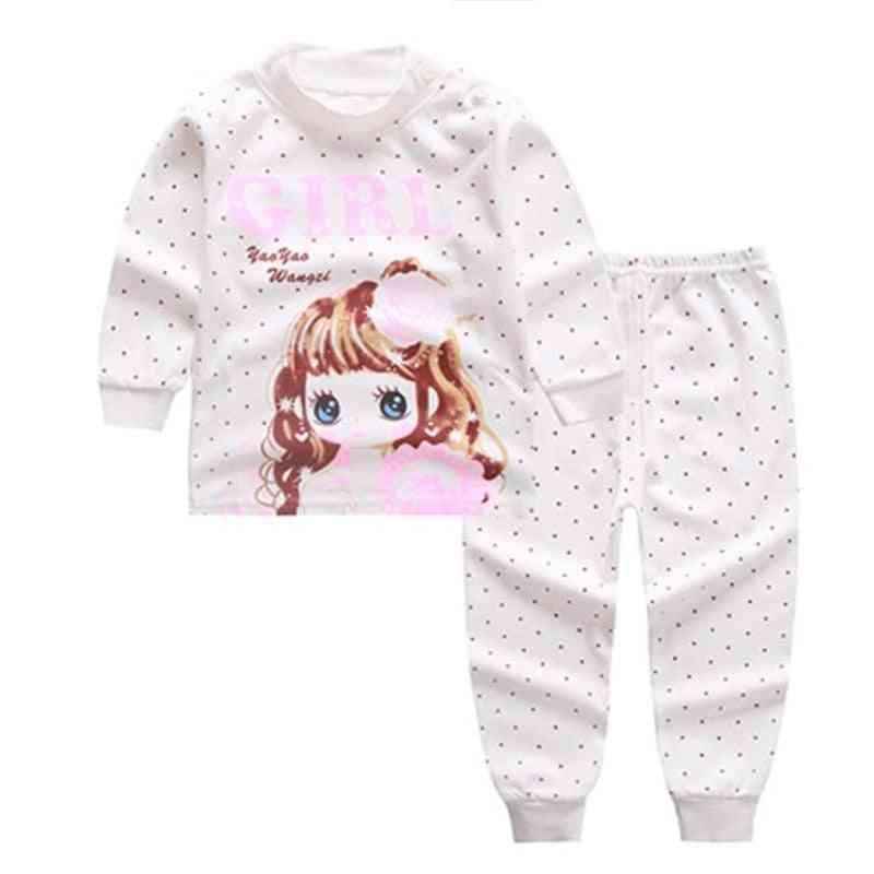 3-24m Baby Sleepwear Set Kids Animal Pijamas Cotton Nightwear