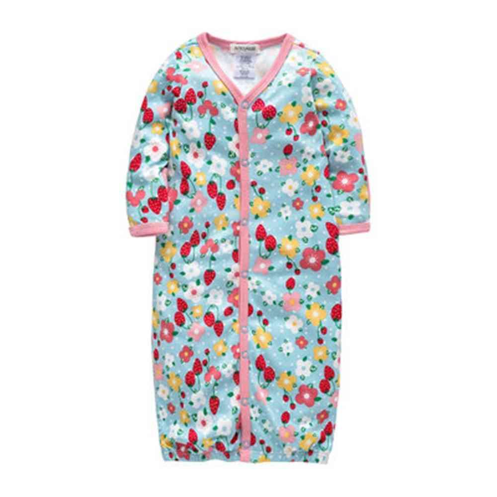 Newborn Baby Sleepers Pajamas Gown Two Ways To Wear