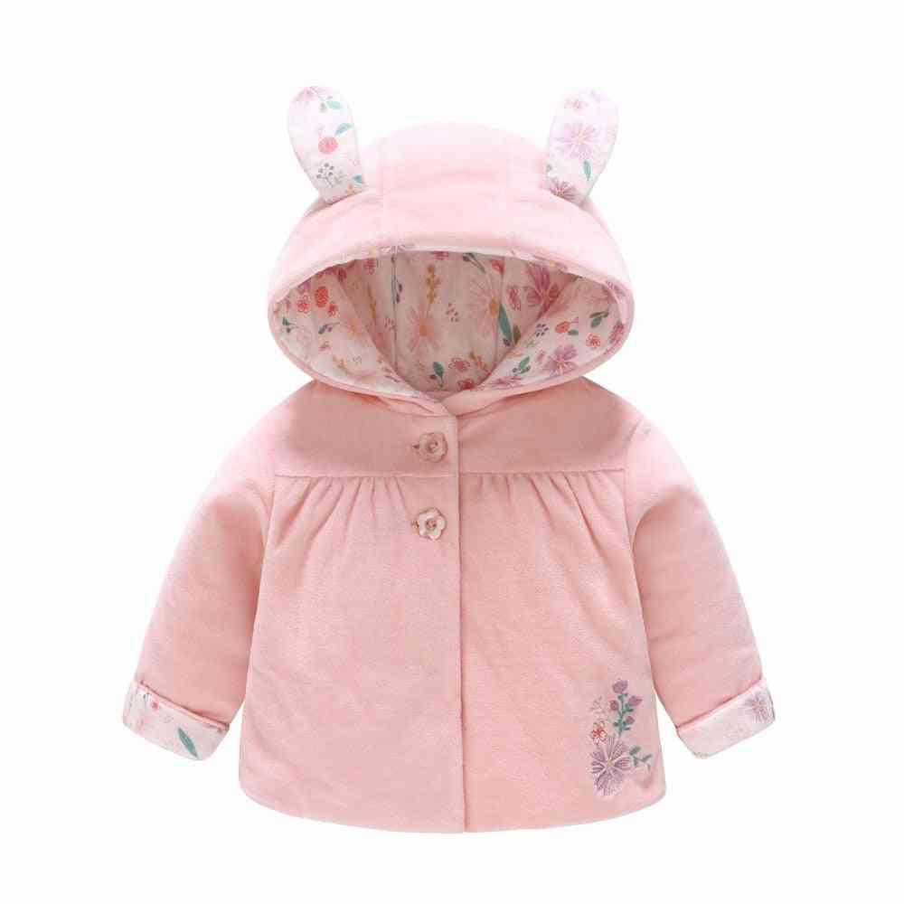 Baby Girl Coat Autumn, Winter Outerwear