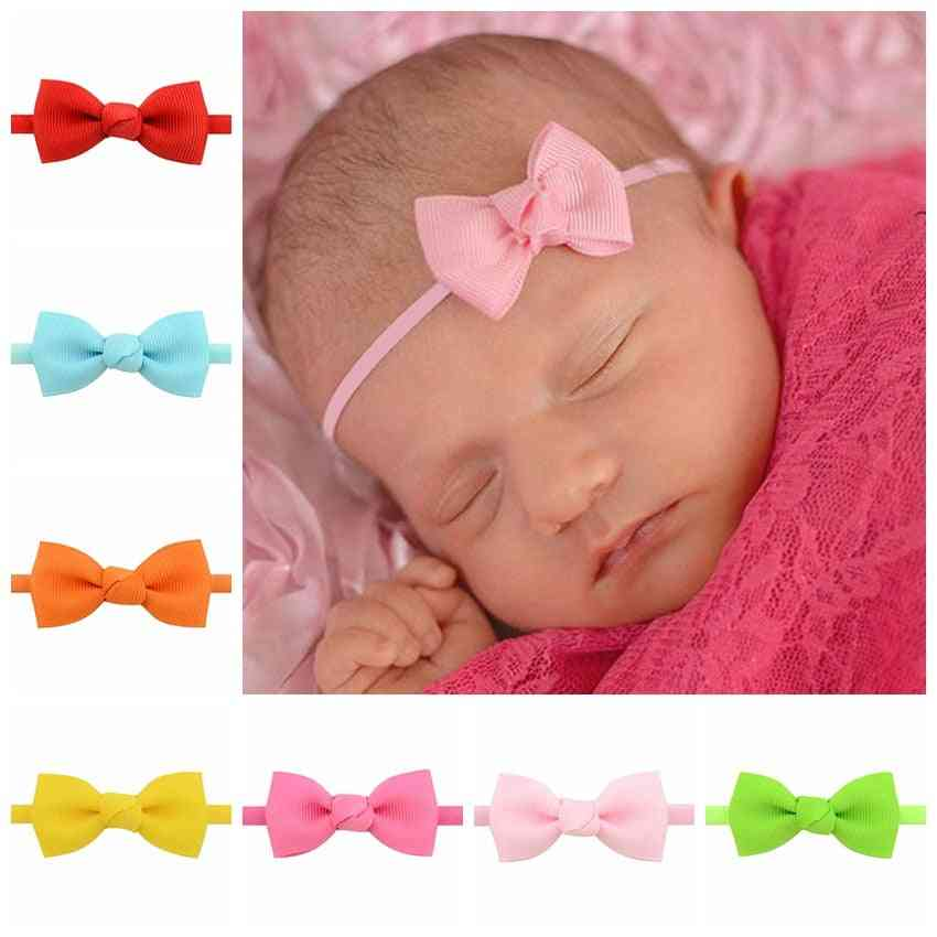 Cloth Tie Bows Headwear - Hair Accessories For Baby Girl