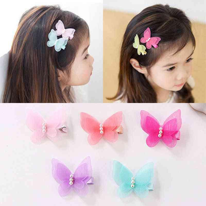 Cute Butterfly Hair Clips