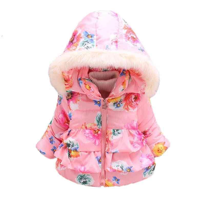 Autumn Winter Coats Jackets, Infant Cotton Hooded Outerwear Coats For Newborn
