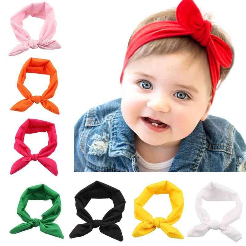 Cute Bow Design, Rabbit Ear Style Headband For Kids