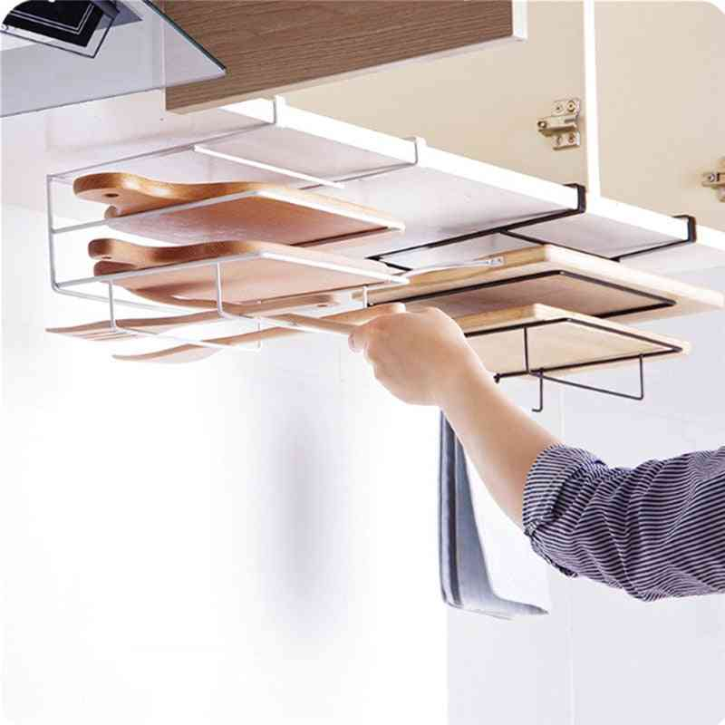 Wall Hanging Rack, Chopping Board Storage Iron Ceiling