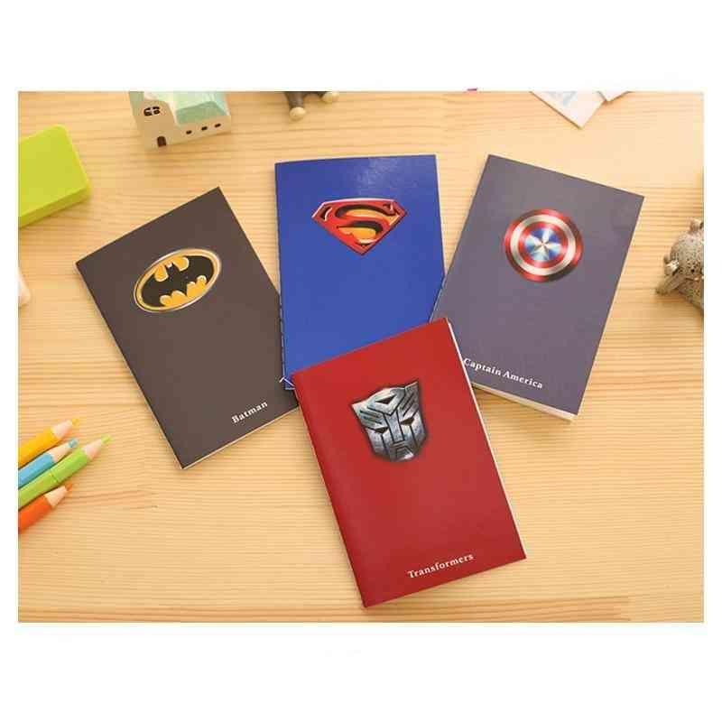 Creative Superman, Batman Notepads - Kids Notebooks