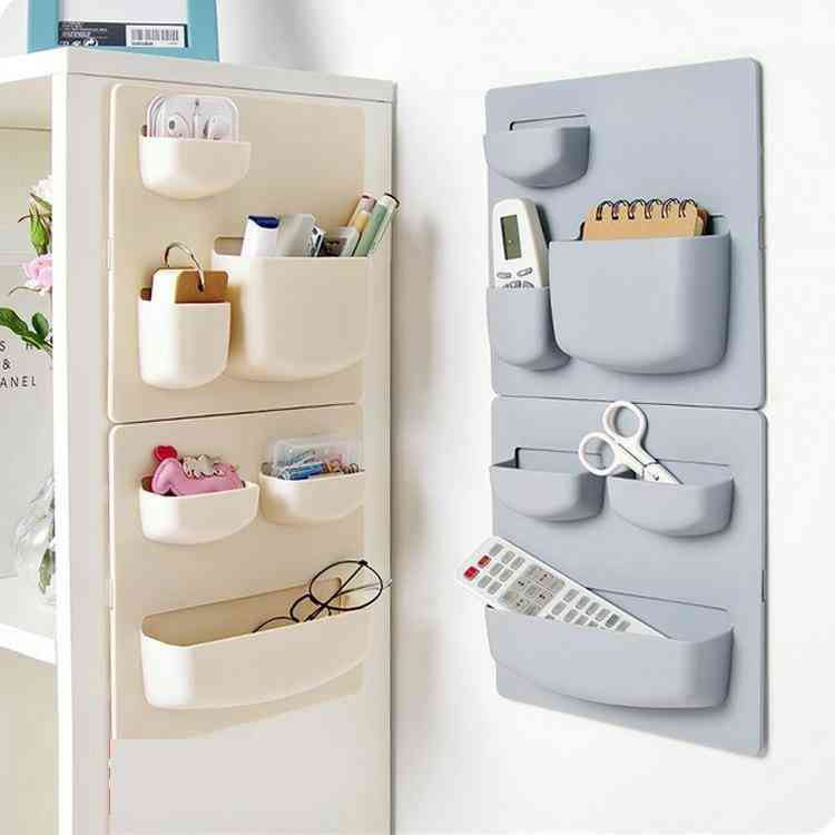 Wall Hanging Rack With Double-sided Tape
