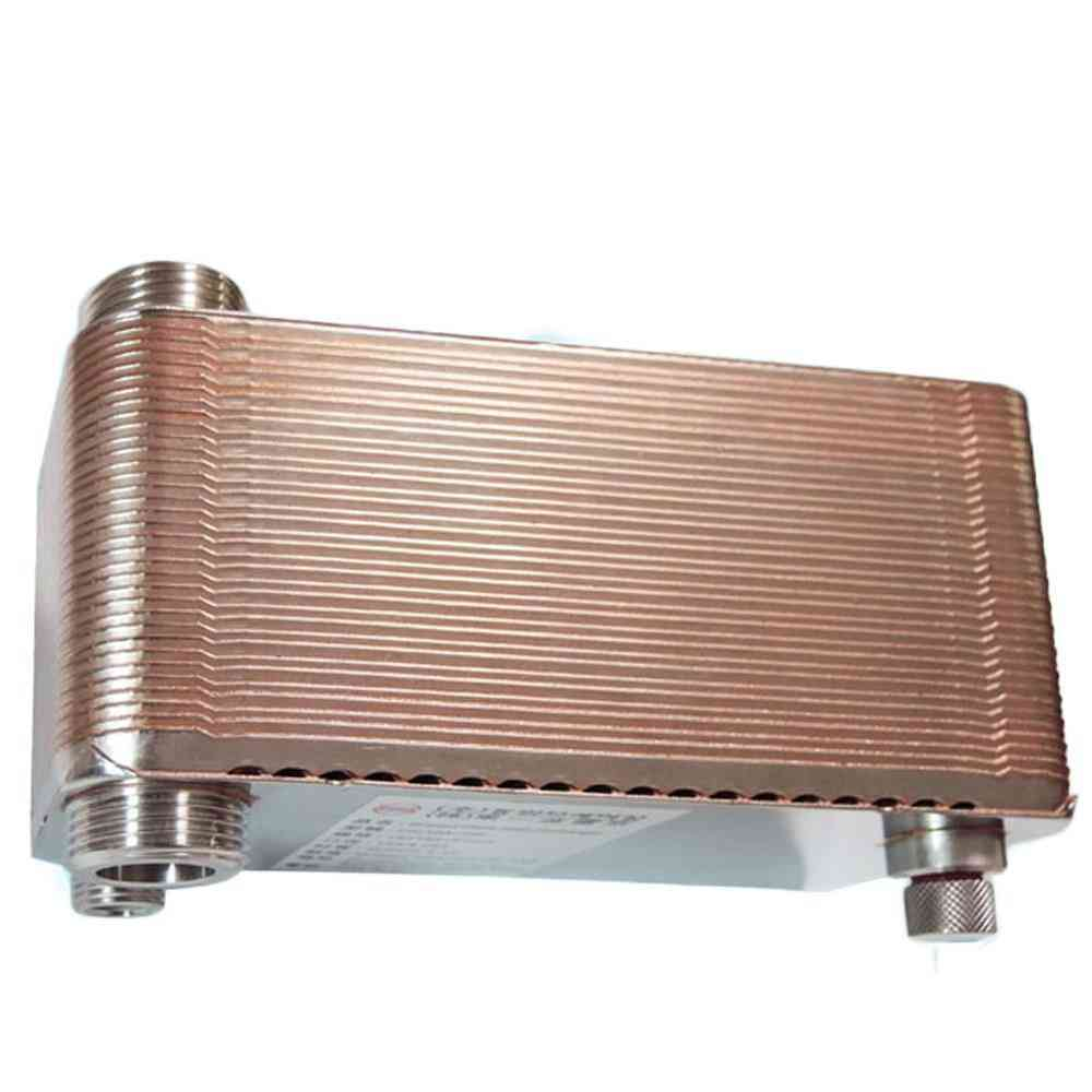 36 Plates High Efficiency Stainless Steel Heat Exchanger