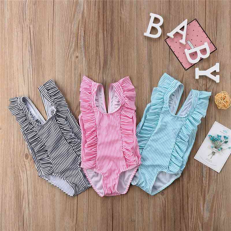 Newborn Infant Baby Swimwear, Lovely / Striped Suit