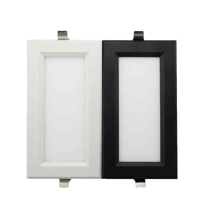 12w Dimmable, Square Panel-led Ceiling Recessed Light