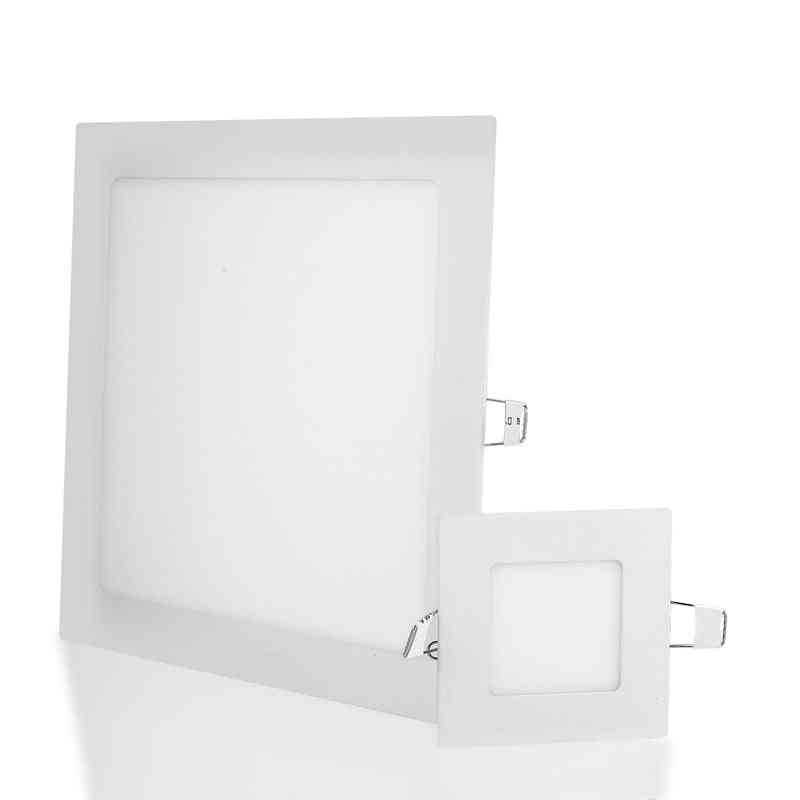 Ultra Thin, Square Led Panel Light For Indoor