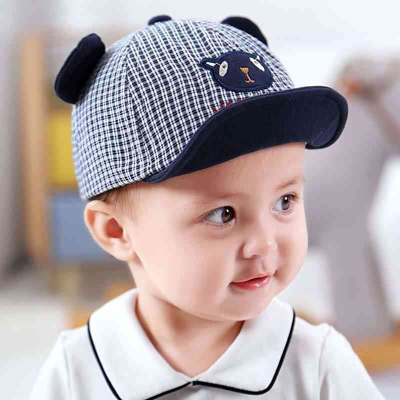 Cute Cartoon Baby Cap With Ears