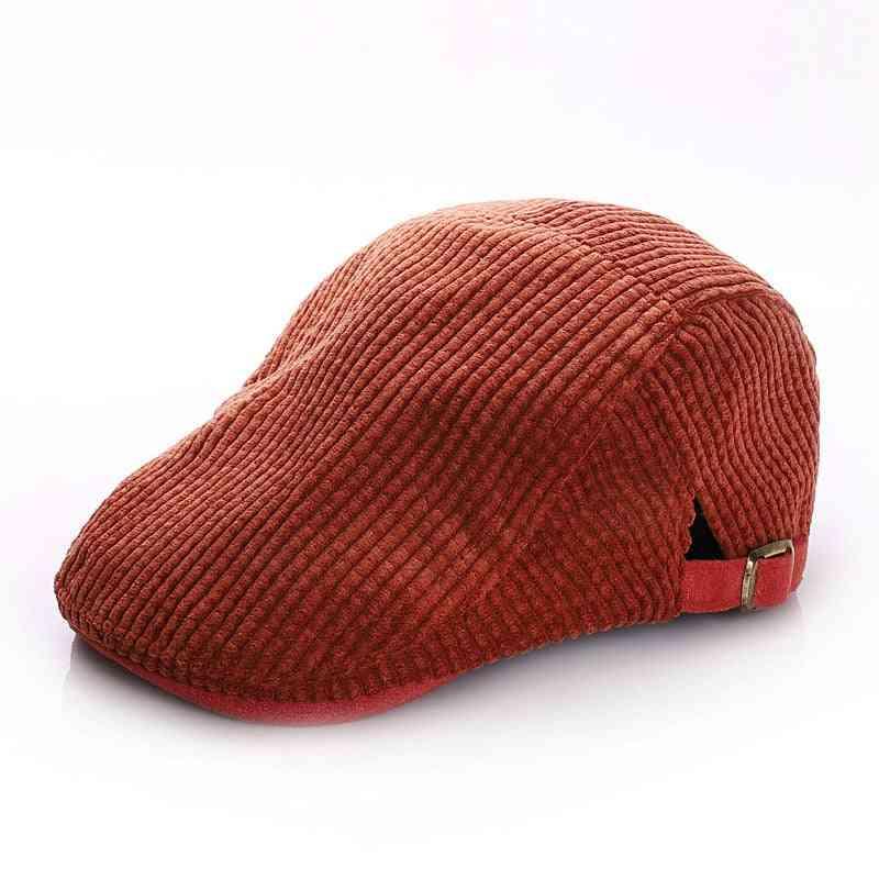 Winter Kids Hats And Caps, Vintage Adjustable Baby Cap- Kids Beret Hats Baby Boy Accessories