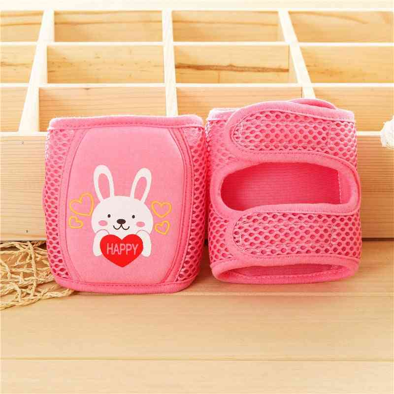Elbow And Knee Protector, Safety Pads For Crawling Kids- Adjustable Leg Warmers