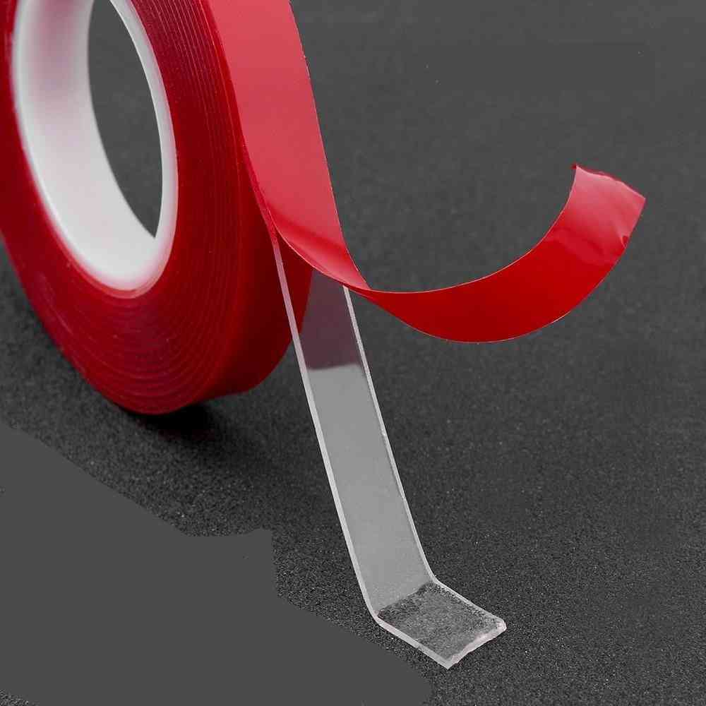 Silicone Double Sided Tape Sticker, No Traces