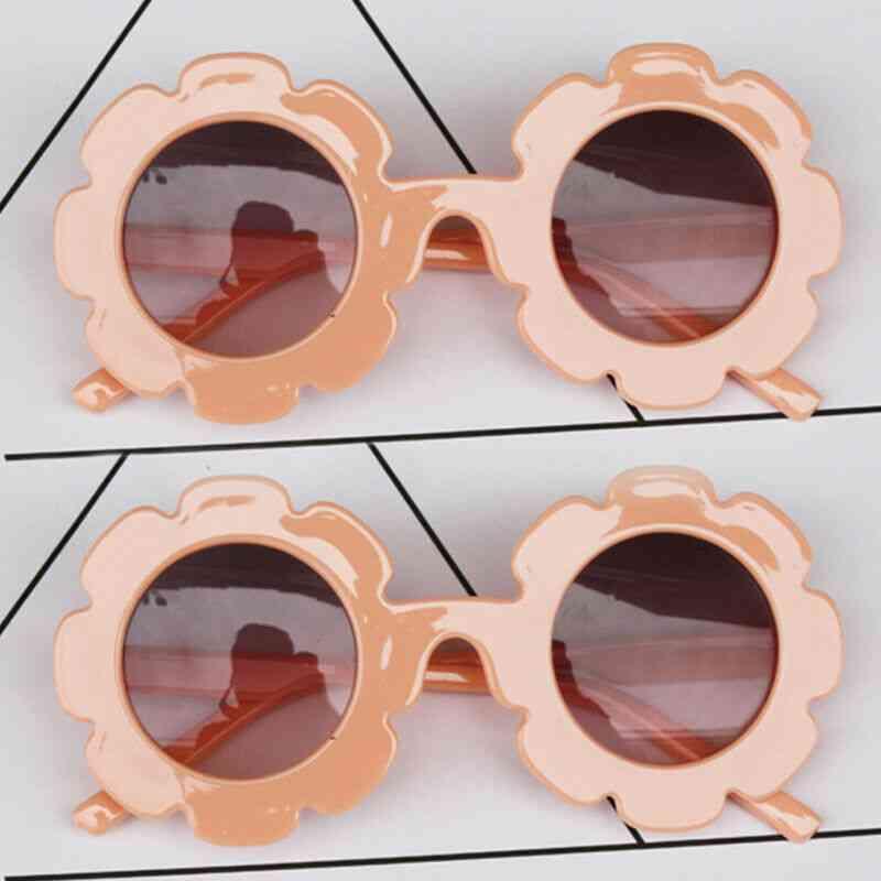 Flower Design Sunglasses