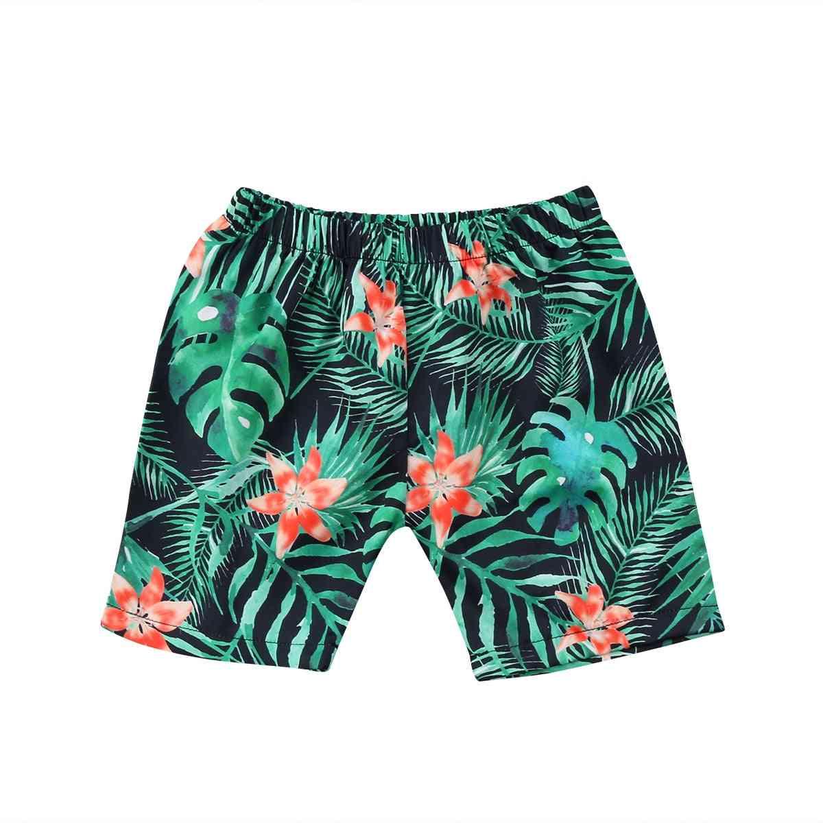 Summer Beach Shorts For Kids