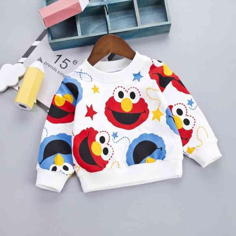 Cartoon Pattern Sweatshirts- Newborn Soft Pullover