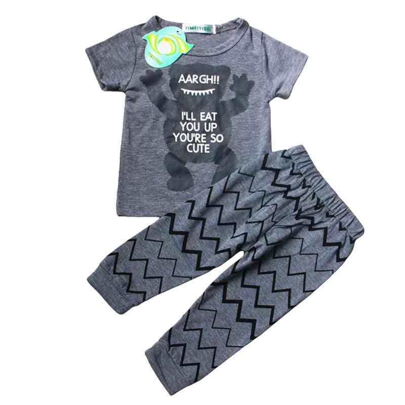 Autumn/winter Newborn Clothes-hoodie And Pants Set