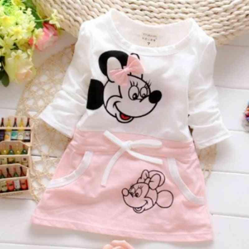 Pure Cotton Minnie Princess Printed-dress For