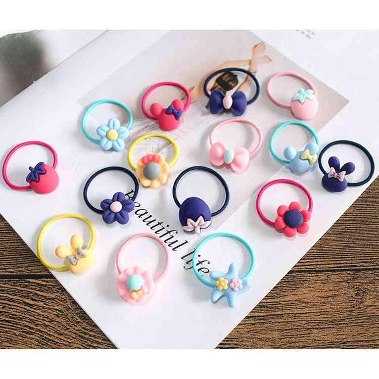 Lovely Flower Princess Headwear- Elastic Hair Bands