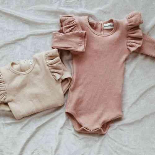 Newborn Baby Girl Princess Long Sleeves Rompers Jumpsuit