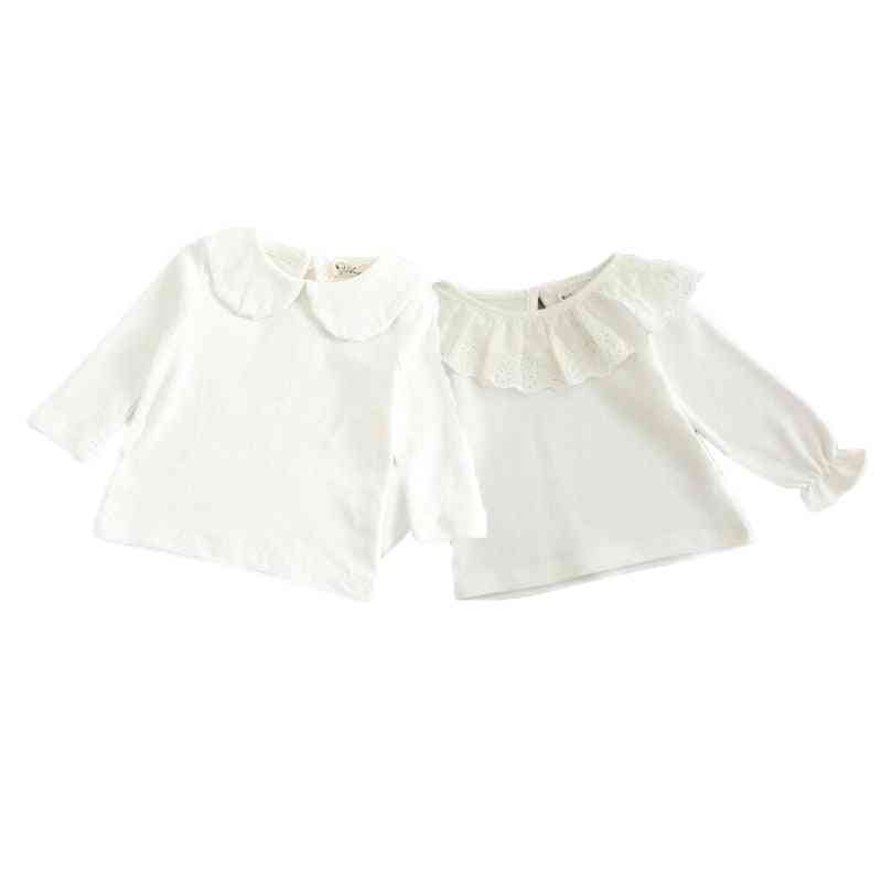 Newborn Baby Boy T-shirt, Long Sleeved Cotton Blouse Tops