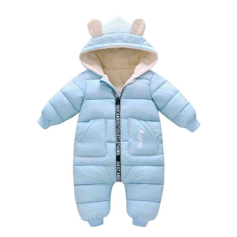 Winter Baby Jacket Coat, Snowsuit Down Cotton