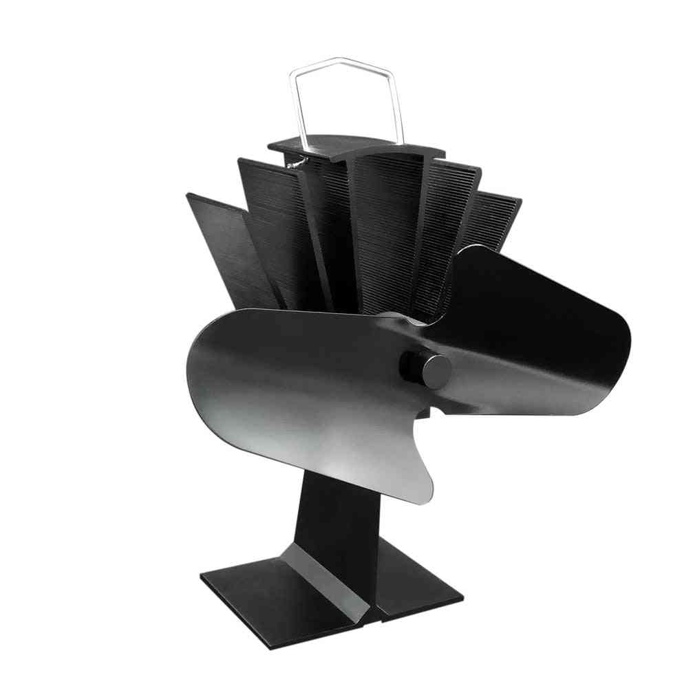 Durable 2 Blades Aluminum Electric Stove Fan