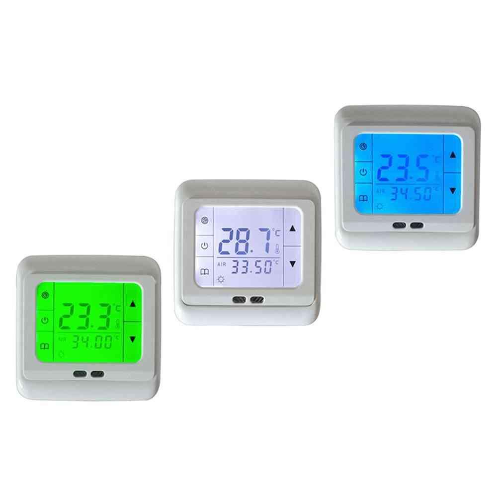 Auto Control , Digital Lcd Display Thermostat (ac 230v)