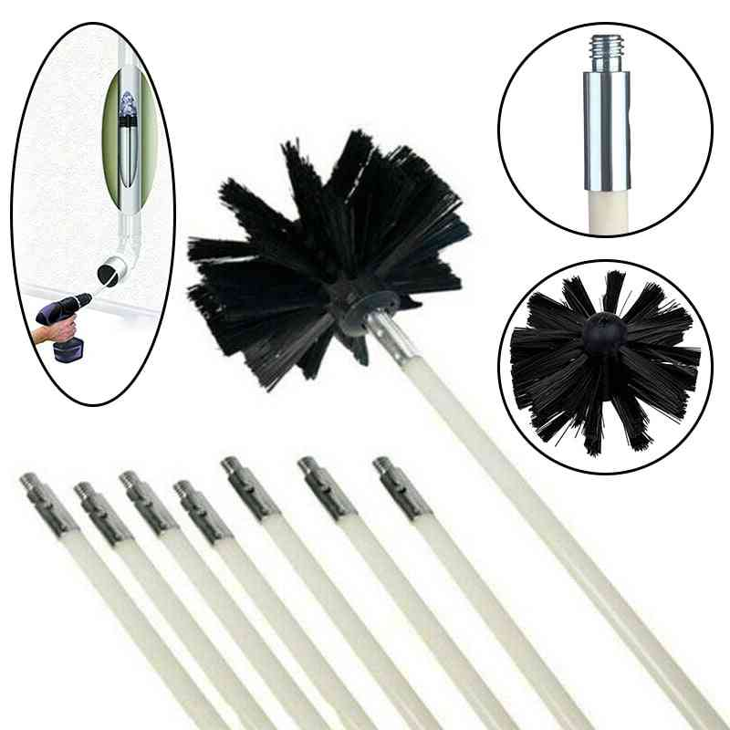 Chimney Cleaner Kit, Including Rod And Brush