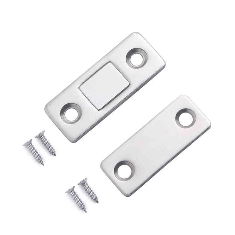 Hidden Door Closer Magnetic Cabinet Catches- Magnet Doors Stops With Screw