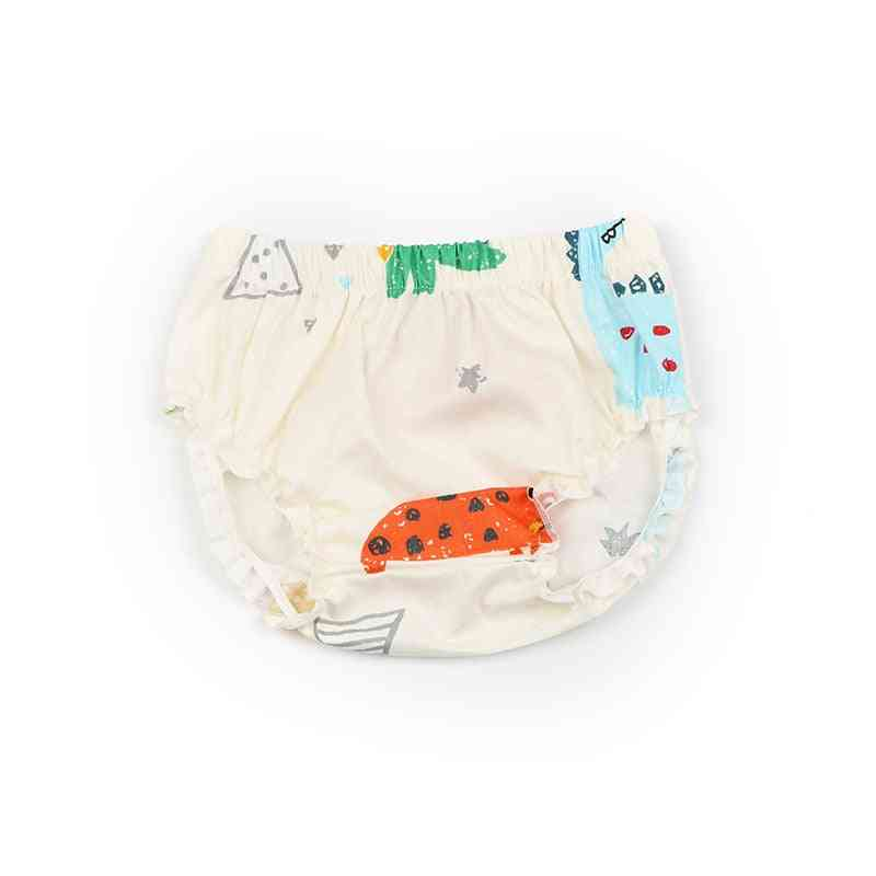 Fashion Baby Short Pants, Dinosaur Printed Ruffle Diaper