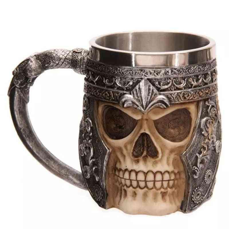 3d Viking Skull Mug
