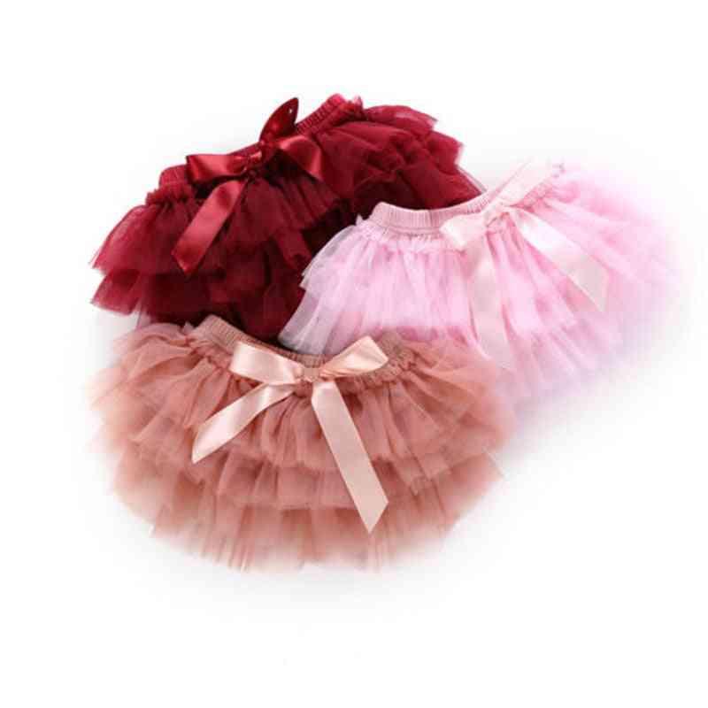 Multi-layer Tutu Lace Princess Skirt & Flower Headband Outfit