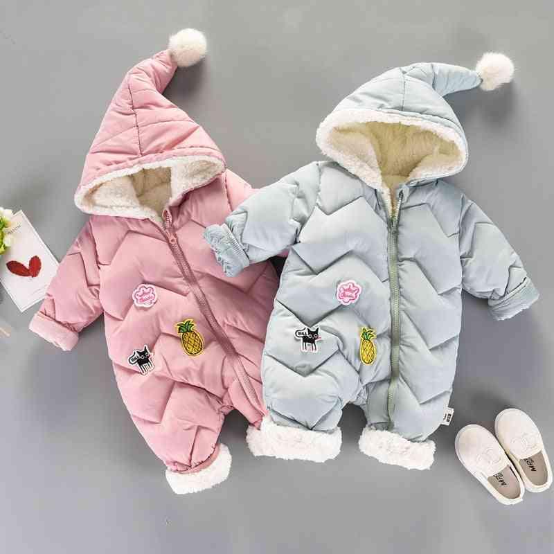 Baby Snow Wear Newborn Snowsuit - Warm Down Cotton Clothes Bodysuit