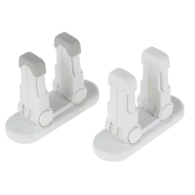 1pc/3m Lever Lock Door, Self-adhesive, Safety Compatible Standard