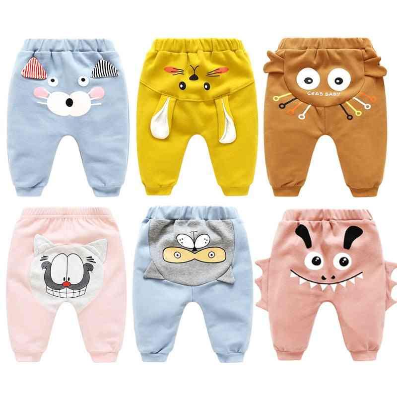 Cartoon Design Bottoms - Warm Under Pants, Leging For Kids