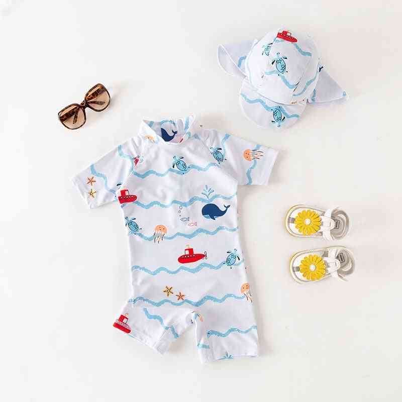 Sailing Boat Swimsuit For Girl