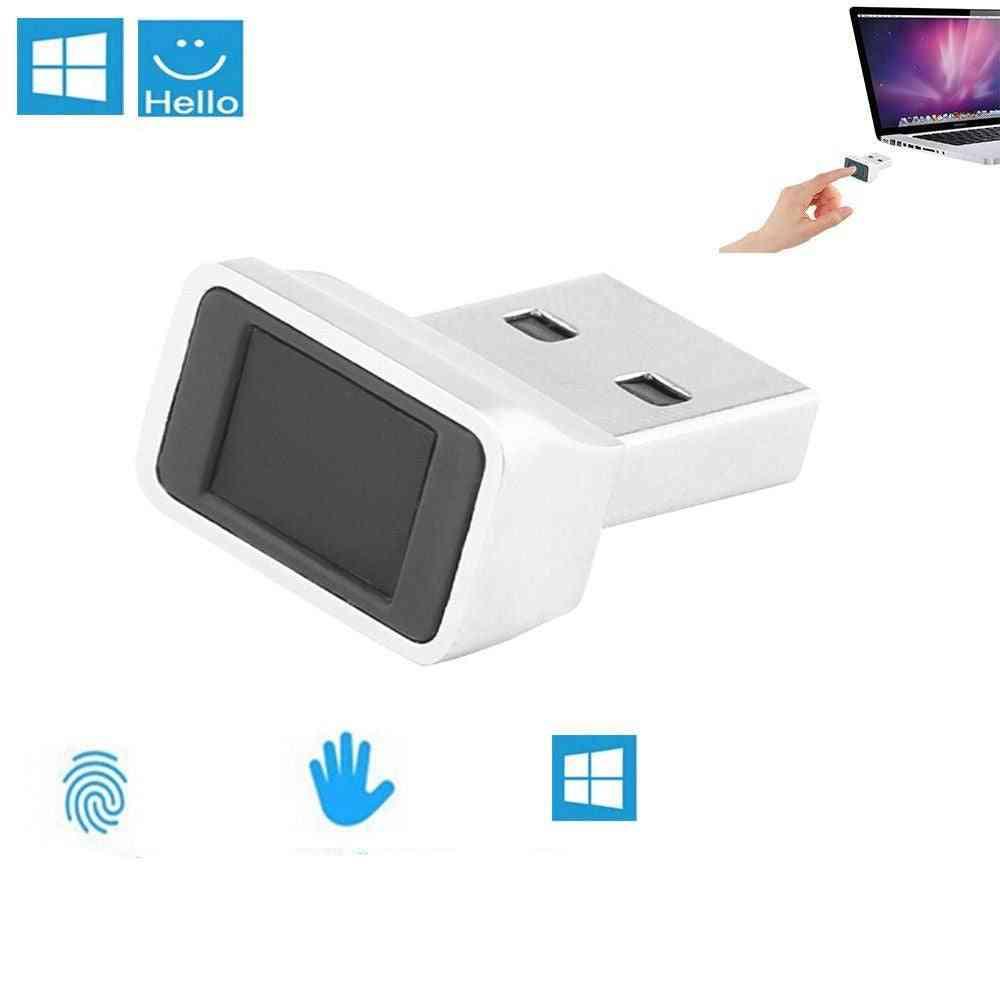 1pc Usb Fingerprint Reader - Biometric Scanner Sensor