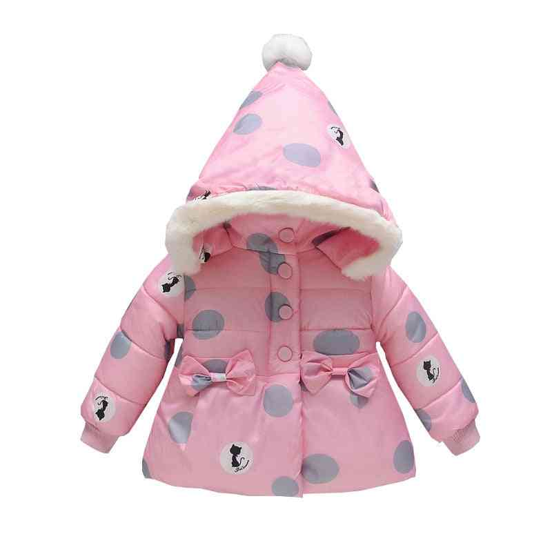 Baby Coat Outerwear, Winter Hooded Jacket