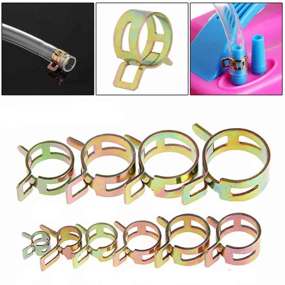 Spring Clip, Fuel Line Hose For Water Pipe, Air Tube-clamps Fastener