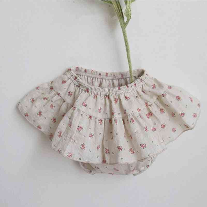 Summer Infants Clothes, Floral Printed Baby Cute Skirt Shorts