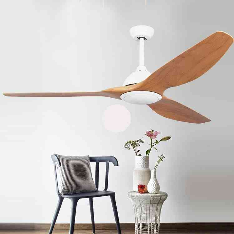Modern Industrial Ceiling Fan Light With Remote Control