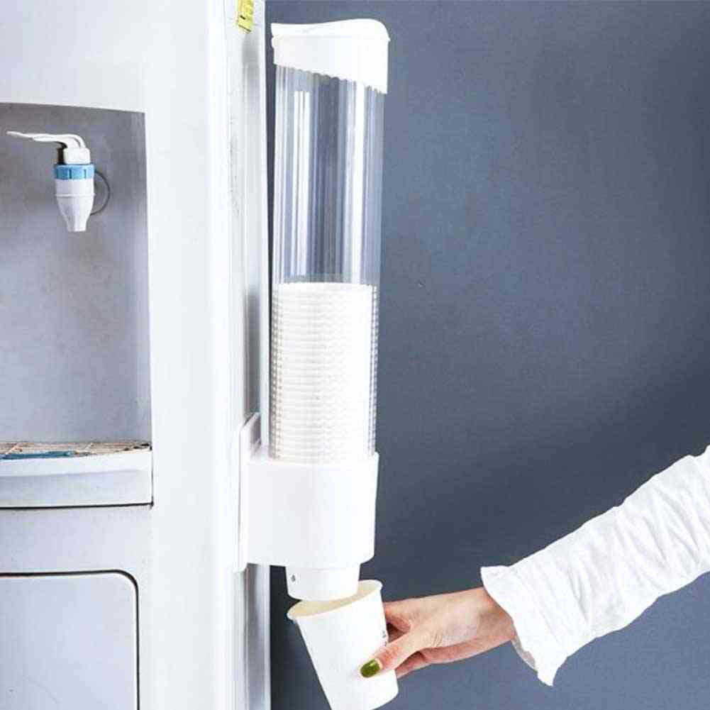 Wall-mounted, Automatic Paper Cup Dispenser And Holder