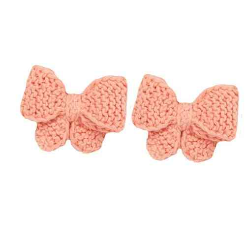 Girls Bow Tie Hair Clips- Beautiful Hand Made Kids Accessories