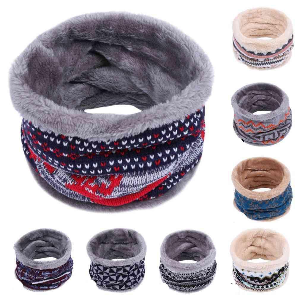 Children Winter Warm, Knitted Neck Scarf